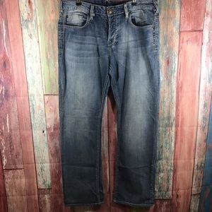 Buffalo slim straight jeans